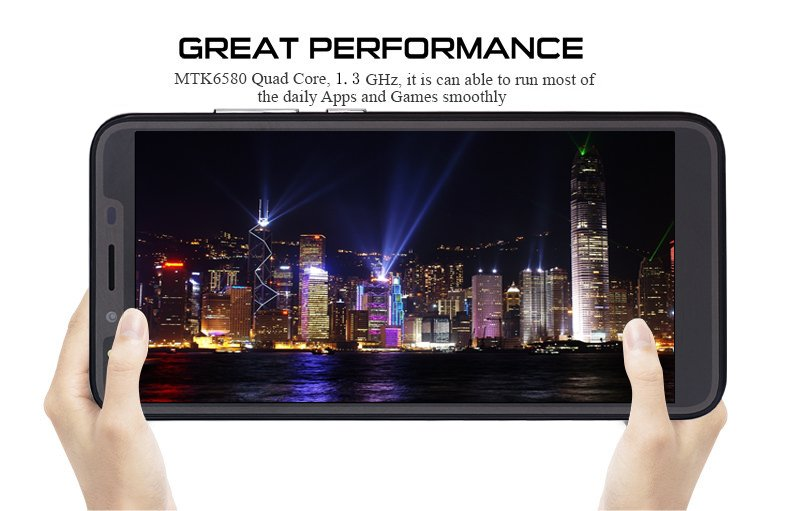 Cheap 6.0″ Dual Sim Quad Core Android Smartphone Unlocked 3G GSM Mobile Phone