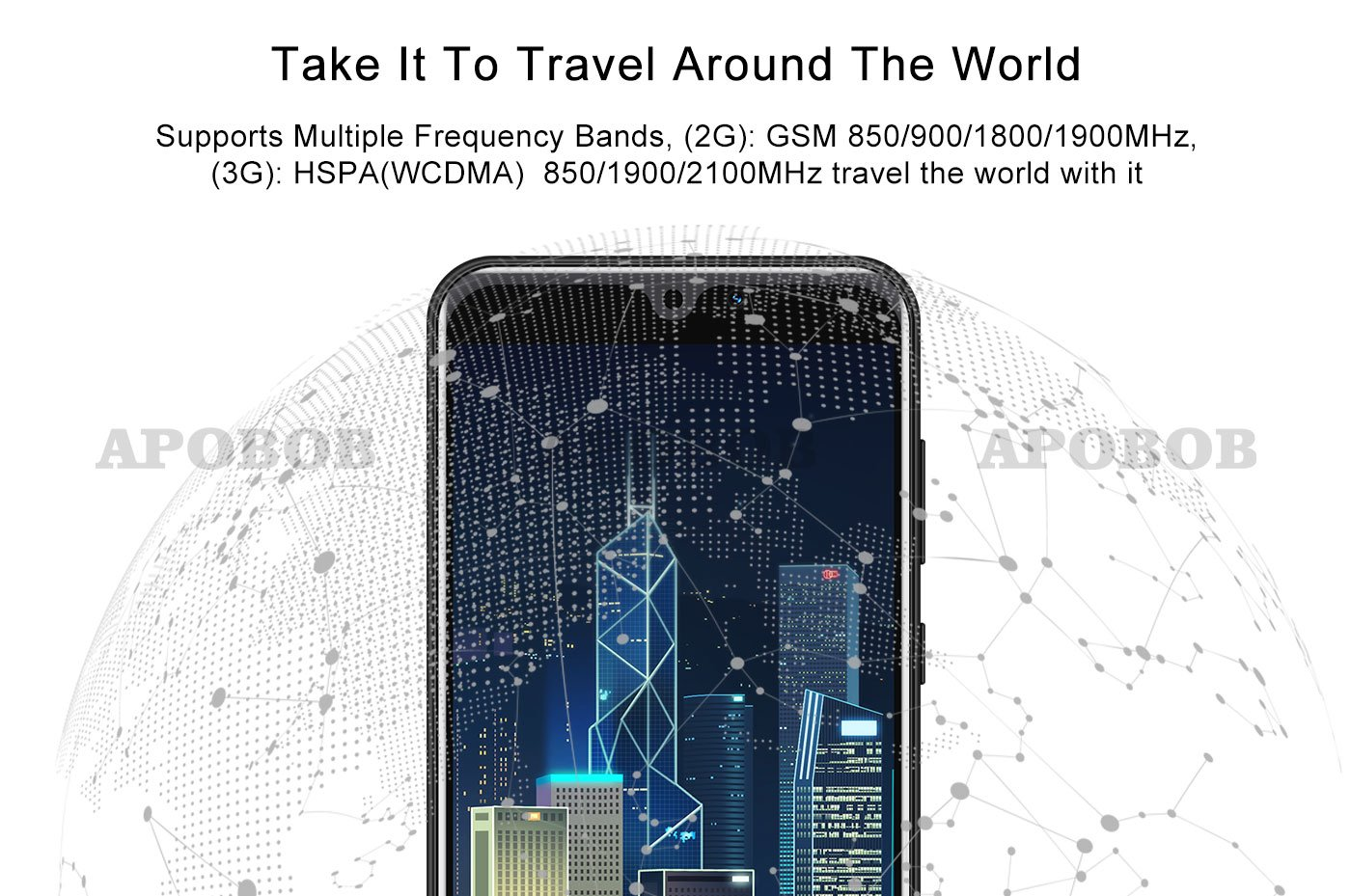 New 6.0″ Cheap Android Cell Phone Factory Unlocked Smartphone Dual SIM Quad Core